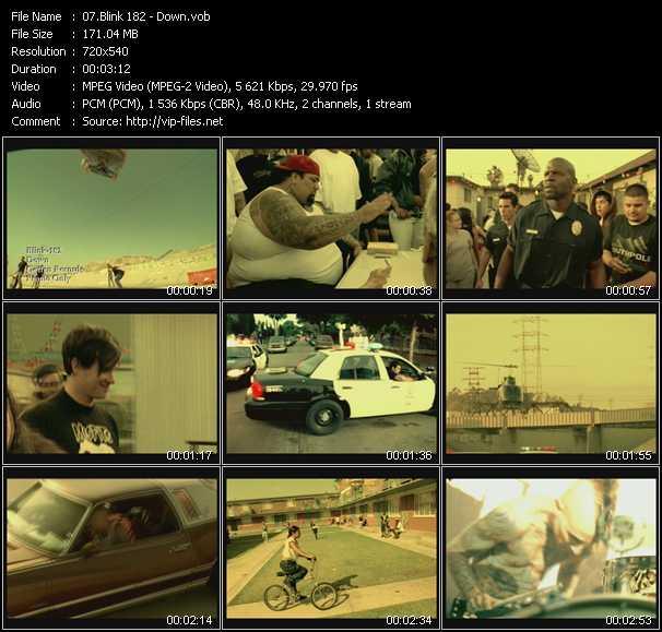 Blink 182 videos. Download blink 182 music video always.