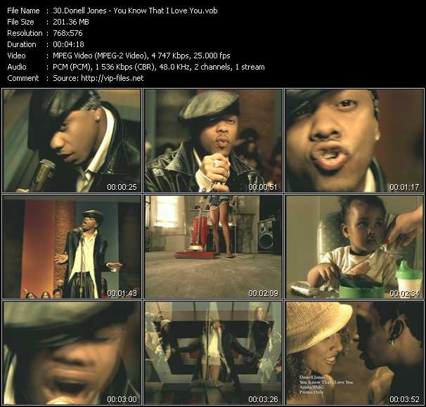 Donell Jones Videos Download Donell Jones Music Video You Know That I Love You