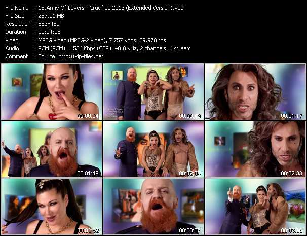 Army of Lovers-Crucified - YouTube