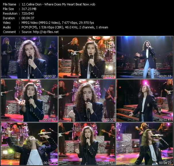 Download Celine Dion My Heart Will Go On: Celine Dion Videos. Download Celine Dion Music Video Where