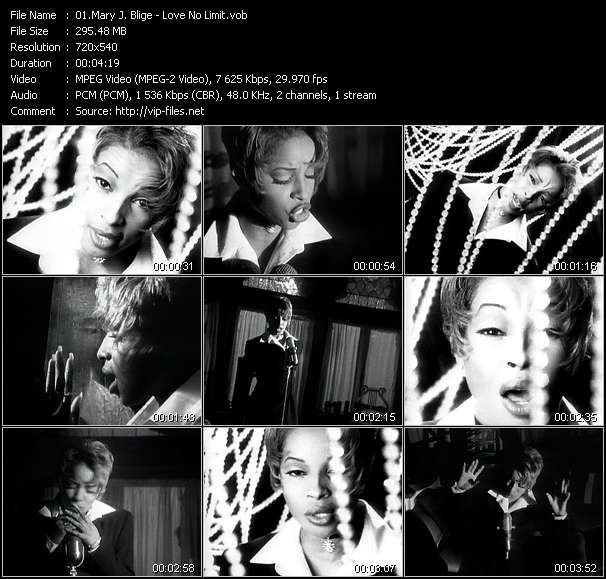 Mary J Blige Videos Download Mary J Blige Music Video Love No Limit