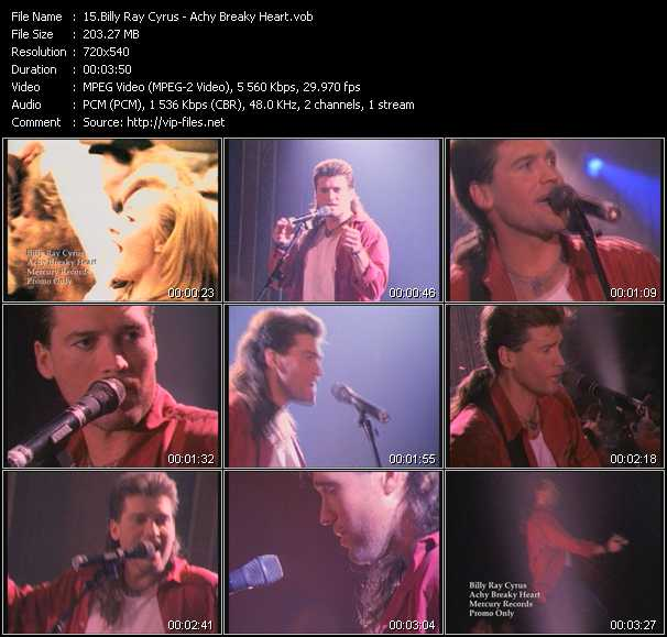 billy ray cyrus achy breaky heart free download