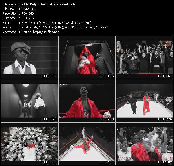 R. Kelly Videos. Download R. Kelly Music Video The World's
